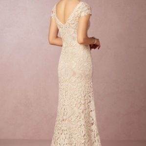BHLDN August Gown Pre-Owned Vintage Good Condition